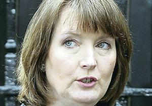 Accusations: Harriet Harman