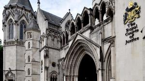 A judge based at the Royal Courts of Justice, in central London has ruled that a baby can be allowed to die, against his parents' wishes, at a virtual hearing. PA/Nick Ansell
