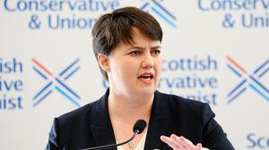 Scottish Conservative leader Ruth Davidson (Jane Barlow/PA)