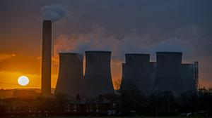 Fossil fuels are in decline, a report says (Peter Byrne/PA)