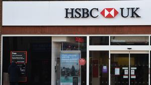 HSBC UK has said it will continue to take mortgage applications across the full range of deposit sizes (Charlotte Ball/PA)