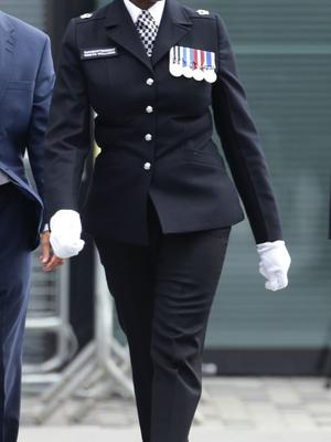 Superintendent Novlett Robyn Williams, pictured in 2016, was commended for her work in the aftermath of the Grenfell Tower tragedy (Yui Mok/PA)