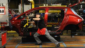 More than 159,000 cars rolled off production lines in March
