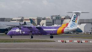 The Government became involved in helping Flybe avoid collapse in January (Steve Parsons/PA)