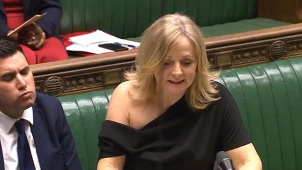 Tracy Brabin's dress (House of Commons/PA)