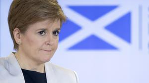 First Minister Nicola Sturgeon also said she did not believe border patrols would be necessary (PA)