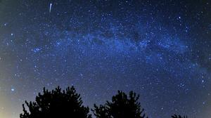 The Ursid meteor shower is expected to peak some time during the night of December 21 (Tim Ireland/PA)