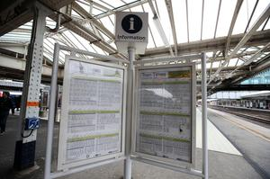 Hundreds of trains were cancelled after timetable changes (Lynne Cameron/PA)