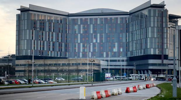 NHS Greater Glasgow and Clyde is to take legal action against a contractor involved in the construction of the scandal-hit Queen Elizabeth University Hospital in Glasgow (Jane Barlow/PA)