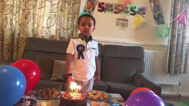 Isaac Paulos died aged five (Grenfell Tower inquiry)