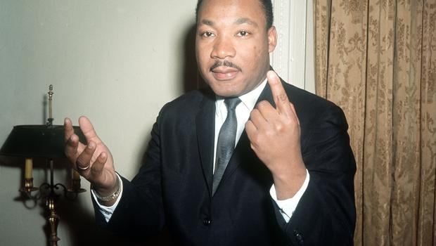 The Bishop opened his sermon with words from Dr Martin Luther King (PA)