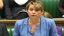 Yvette Cooper said the the tents and volunteer support network at the Calais site are about to be bulldozed and there is no safeguarding plan in place