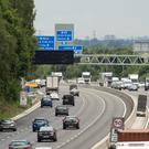 The M3 is considered a smart motorway (Steve Parson/PA)