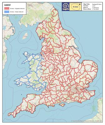 England's map of B-Lines has been launched (Buglife)