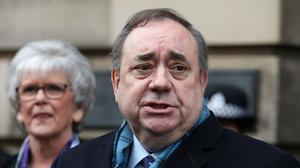 Evidence from Alex Salmond was removed from the parliament website and redacted (Andrew Milligan/PA)