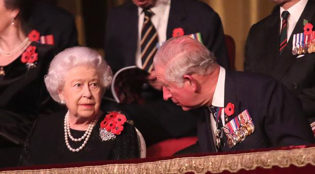 The Queen and the Prince of Wales will attend the annual Royal British Legion Festival of Remembrance at the Royal Albert Hall in London (Chris Jackson/PA)