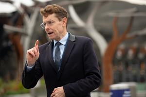 West Midlands Mayor Andy Street has said the next days would be 'absolutely critical in this fight' (Jacob King/PA)