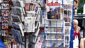 A News stand in London's Oxford Street (Sean Dempsey/PA)