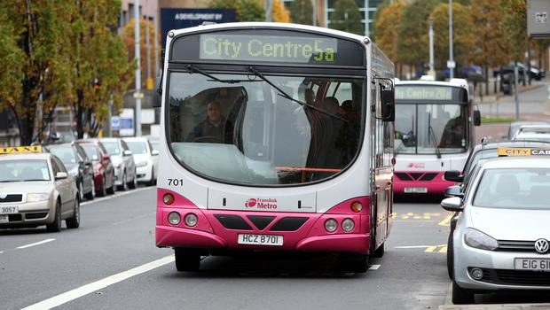 UK towns can bid for funding towards an all-electric bus fleet (Paul Faith/PA)