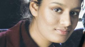 Shamima Begum, one of three east London schoolgirls who travelled to Syria to join the so-called Islamic State group (Handout/PA)