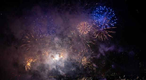 Air pollution levels on Bonfire Night were up to four times the daytime level, scientists have said following a major urban study (Aaron Chown/PA)