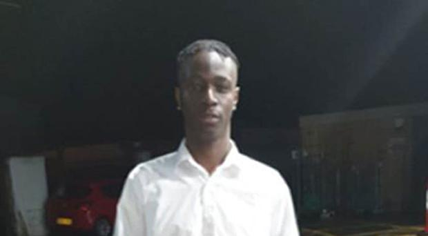Handout photo issued by Metropolitan Police of Hakim Ishmael Daba Sillah who was fatally stabbed while attending a course at Hillingdon Civic Centre (Metropolitan Police/PA()