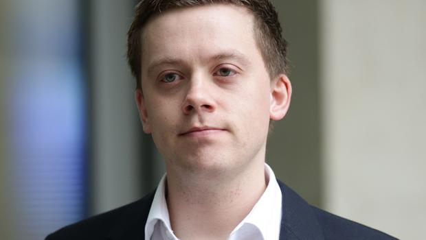 Owen Jones was attacked by three men outside a bar (PA)