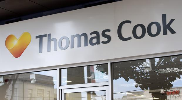 Trade creditors such as hoteliers, airports and aircraft catering suppliers were owed £885m when Thomas Cook collapsed (Jonathan Brady/PA)