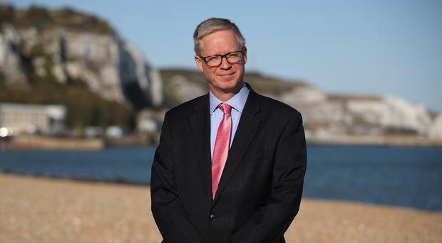 Chief executive of Port of Dover, Doug Bannister (Andrew Matthews/PA)