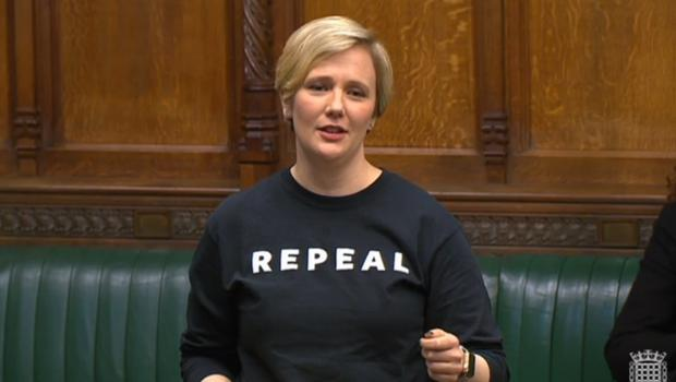 Stella Creasy campaigned against NI abortion laws. (Parliament TV)