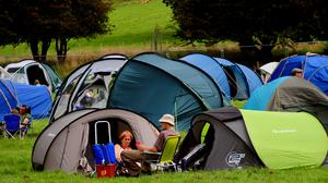 Camping might be a safer option for summer holidays in the age of Covid-19 (Rui Vieira/PA)