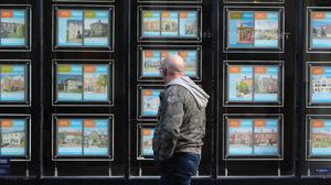 An estate agent's window (Niall Carson/PA)