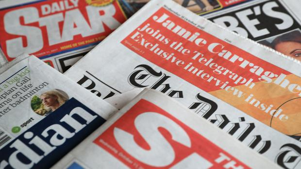 What the papers say – April 2 (Peter Byrne/PA)