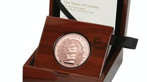 The coin features three lions gifted to Henry III (Royal Mint/PA)