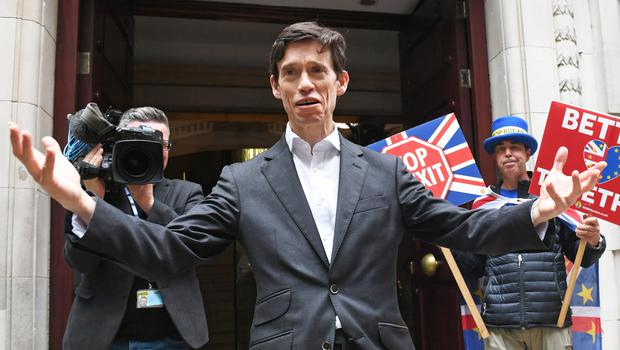 Rory Stewart is asking Londoners if he can kip with them (Stefan Rousseau/PA)