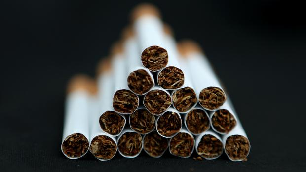 The ban on menthol cigarettes comes into force on May 20 (Chris Radburn/PA)