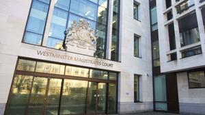 Christian Bittar appeared at Westminster Magistrates' Court accused of conspiracy to defraud between 2005 and 2009
