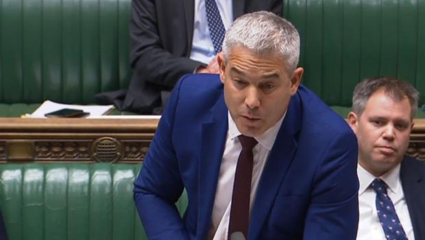 Brexit secretary Stephen Barclay says he is dismayed by comments from Donald Tusk (House Of Commons/PA)