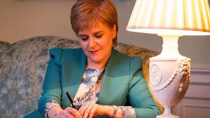 The First Minister Nicola Sturgeon and the Governor of California Edmund G Brown made the pledge in a document signed in Sacramento, US, on Monday