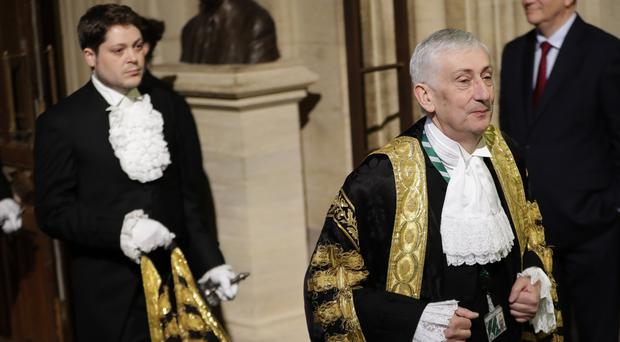 Speaker of The House of Commons Sir Lindsay Hoyle (Kirsty Wigglesworth/PA)