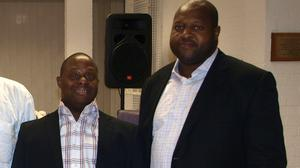 A family is in mourning after Isi Ivowi (left) and his brother Olume Ivowi died with the Covid-19 (Family handout/PA)