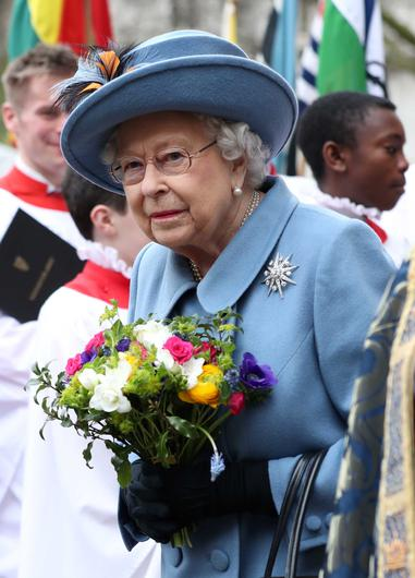 The Queen on Commonwealth Day in March (Yui Mok/PA)