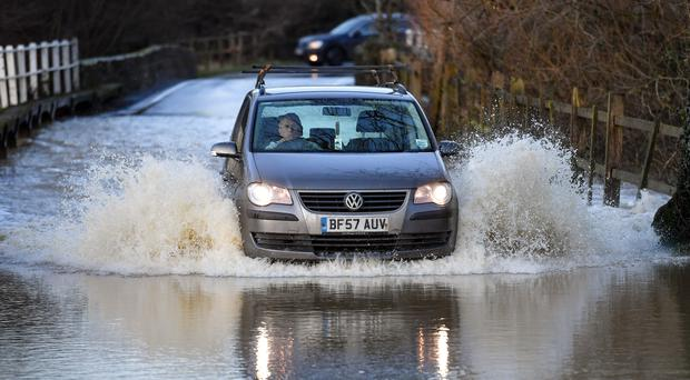 Flooding in the West Midlands (Jacob King/PA)