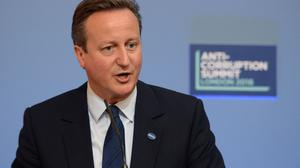 Former prime minister David Cameron hosted an Anti-Corruption Summit in London earlier this year