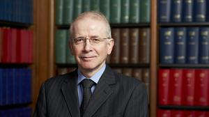 Lord Reed of Allermuir succeeded Lady Hale as the president of the Supreme Court (Supreme Court/PA)