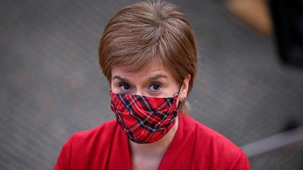 First Minister Nicola Sturgeon has been accused of breaking the Ministerial Code (Jeff J Mitchell/PA)