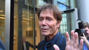 Sir Cliff Richard arrives at the Rolls Building in London for the continuing legal action against the BBC over coverage of a police raid at his apartment in Berkshire in August 2014 (Kirsty O'Connor/PA)