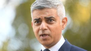 Mayor of London Sadiq Khan (Victoria Jones/PA)