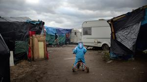 Hundreds of migrants and refugees at the Jungle camp are facing eviction