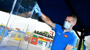Legoland is 'relying on' visitors to follow new safety and hygiene rules when it reopens on Saturday (Legoland Windsor/PA)